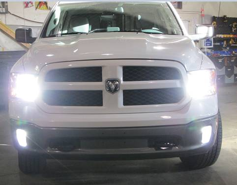 2002 05 Dodge Ram 1500 2003 2500 3500 9007 Led Conversion Interface Kit